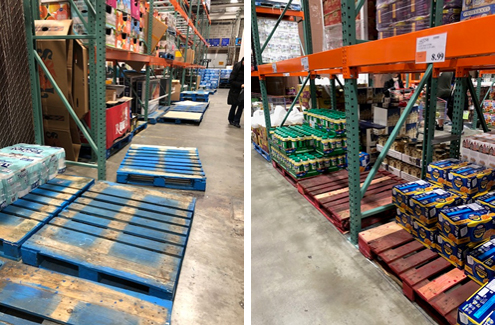 Costco pallets
